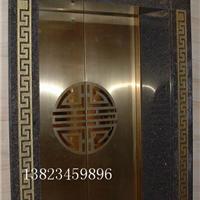 供应不锈钢电梯装饰板 香槟金蚀刻电梯板