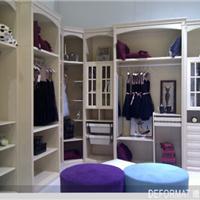 2014德夫曼最新板式衣柜新品系列
