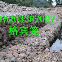 斜坡式铅丝石笼挡墙、高滩抢险治理铅丝石笼