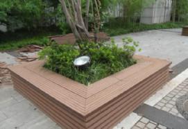 云南塑木花箱,护树池厂家直销