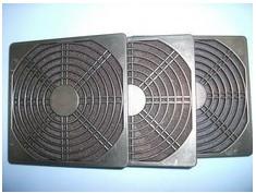 供应120三合一防尘网 轴流风机防尘网黑色