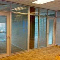 供应办公成品隔墙高隔间玻璃隔断铝合金间隔