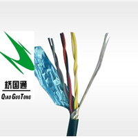 供应现货6芯0.3双绞高柔性拖链屏蔽电缆