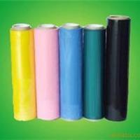 好货源供应彩色PE缠绕膜 PE拉伸缠绕膜 手工PE膜