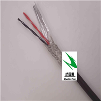 供应高柔性4芯0.3拖链双绞屏蔽电缆