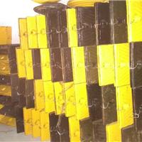 香洲减速带样板提供珠海黄黑铸钢减速带