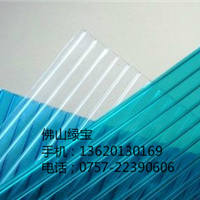 8mm蜂窝阳光板温室大棚,广东阳光板厂家