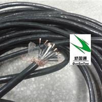 供应10芯0.75黑色打码控制屏蔽线