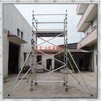 厂家直销铝合金脚手架 满足5m作业 双宽铝架