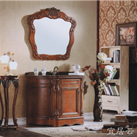 宜居云 仿古欧式浴室柜M003 专业生产浴室柜