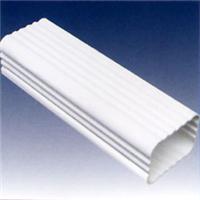 供应方型雨水管/彩铝落水系统/天沟