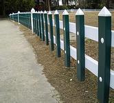 供应pvc塑钢护栏厂家实体工厂付报价