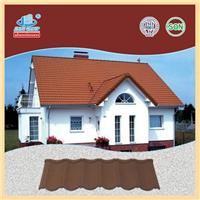 质量轻 安装简单 美观耐用 彩石金属瓦