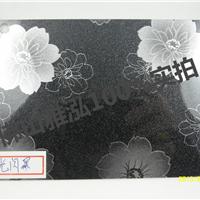 成都201黑底暗菊花不锈钢覆膜橱柜装饰板