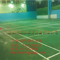 柳州PVC塑胶球场施工流程