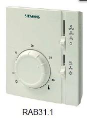供应西门子机械式风机盘管温控器RAB11.1