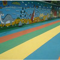 优质幼儿园防滑地板、酒店橡胶地板等