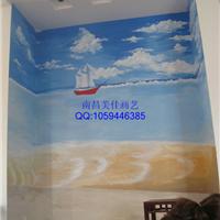 供应九江幼儿园彩绘喷绘,人体彩绘,墙绘!