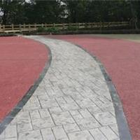 供應彩色混凝土-彩色壓模地坪