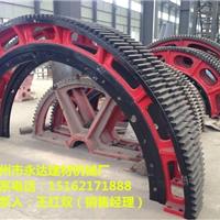 1.8米X16米活性炭转炉铸造大齿轮配件