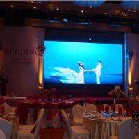 酒店大堂专用P4LED全彩显示屏