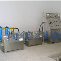 供应井口装置气密封试验系统