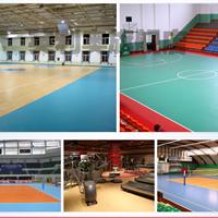 天津乒乓球地胶羽毛球塑胶地板施工