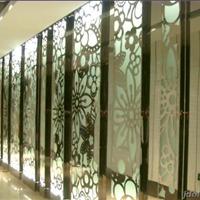 供应酒店双面钛金不锈钢装饰屏风 钛金屏风