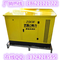 供应电启动25KW汽油发电机