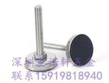 供应设备机器附件304不锈钢带胶脚杯