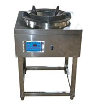 甲醇燃料电加热气化炉头双开关大排档炉具