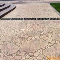 供应安徽高耐用性水泥压印地面_材料厂家