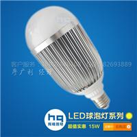 供应辉晴照明大功率LED球泡灯15W灯泡
