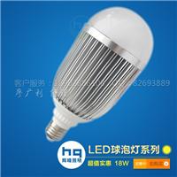 供应18W球泡灯,辉晴照明专业LED灯泡制造商