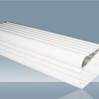供应PVC天沟.成品檐沟.彩铝落水管
