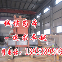 内蒙古通辽理想输送设备 混凝土泵工作细节