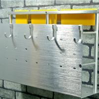 供应太空铝牙刷架铝挂件置物架刀架S-1800