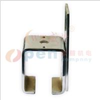 供应工业门平移门卡件固定顶装侧装卡件