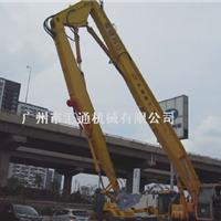 供应浙江现代300挖机拆楼臂、三段式拆楼臂