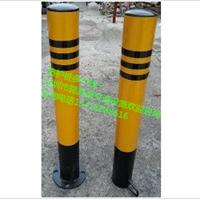 警示桩 铁马护栏撞 防撞桩 马路黄色固定桩