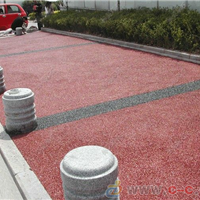 供应露骨料透水地坪-透水树池施工-材料厂家