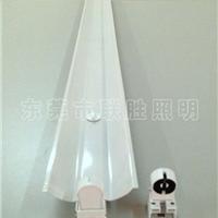 供应LED单管支架,T8单管带罩铁支架,LED铁皮支架