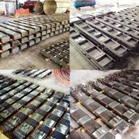 供应1-60T中频炉磁轭/硅钢柱/轭铁/中频炉硅钢柱