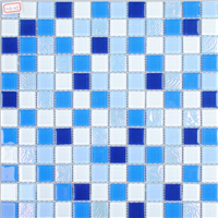 供应优质材质 陶瓷马赛克 游泳池工程墙面砖