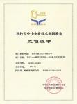 技术创新立项证书