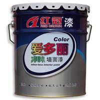 山西内墙乳胶漆生产红冠爱多丽净味墙面漆