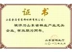 金马首-山东省龙头企业