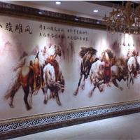 佛山瓷砖彩雕背景墙厂