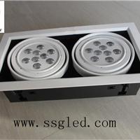 供应双头18瓦LED斗胆灯  开孔尺寸310*160mm