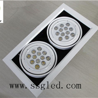 供应双头30瓦LED斗胆灯  开孔尺寸310*160mm
